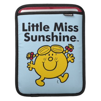 Little Miss | Little Miss Sunshine is a Ray of Sun iPad Sleeves