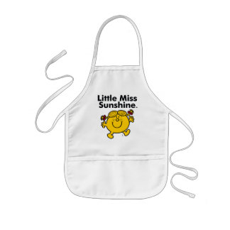 Little Miss | Little Miss Sunshine is a Ray of Sun Kids Apron