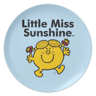 Little Miss | Little Miss Sunshine is a Ray of Sun Plate