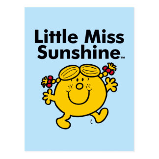 Little Miss | Little Miss Sunshine is a Ray of Sun Postcard