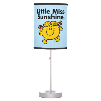 Little Miss | Little Miss Sunshine is a Ray of Sun Table Lamp