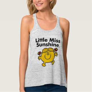 Little Miss | Little Miss Sunshine is a Ray of Sun Tank Top