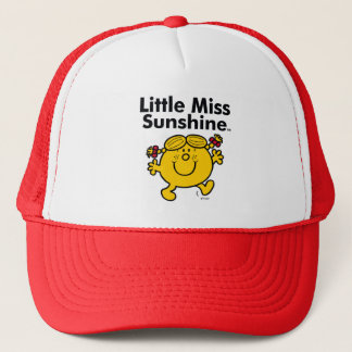 Little Miss | Little Miss Sunshine is a Ray of Sun Trucker Hat