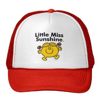 Little Miss   Little Miss Sunshine is a Ray of Sun Trucker Hat