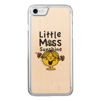 Little Miss | Little Miss Sunshine Laughs Carved iPhone 7 Case