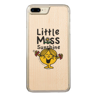Little Miss | Little Miss Sunshine Laughs Carved iPhone 8 Plus/7 Plus Case