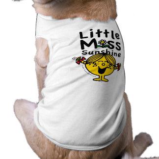 Little Miss   Little Miss Sunshine Laughs Dog Tee