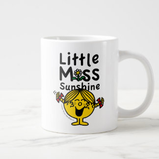 Little Miss   Little Miss Sunshine Laughs Giant Coffee Mug