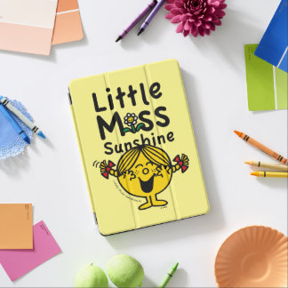 Little Miss | Little Miss Sunshine Laughs iPad Air Cover