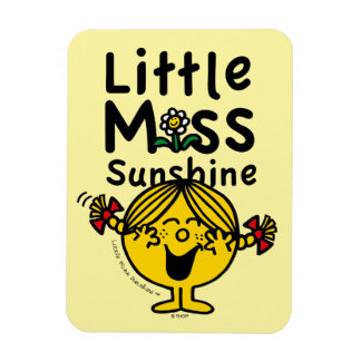 Little Miss   Little Miss Sunshine Laughs Magnet