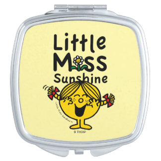 Little Miss | Little Miss Sunshine Laughs Mirror For Makeup
