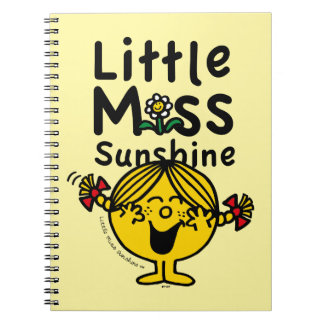 Little Miss | Little Miss Sunshine Laughs Notebook