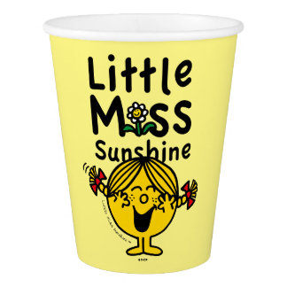 Little Miss | Little Miss Sunshine Laughs Paper Cup