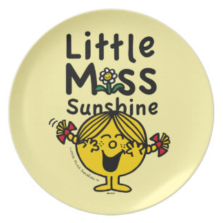 Little Miss | Little Miss Sunshine Laughs Plate