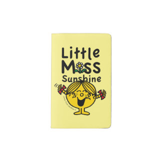 Little Miss | Little Miss Sunshine Laughs Pocket Moleskine Notebook