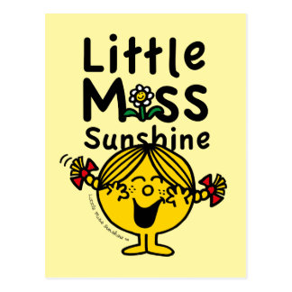 Little Miss | Little Miss Sunshine Laughs Postcard