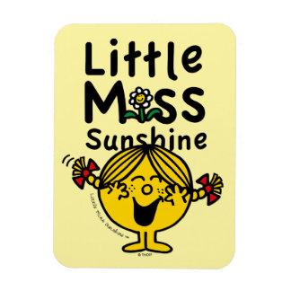 Little Miss | Little Miss Sunshine Laughs Rectangular Photo Magnet