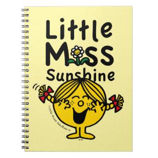 Little Miss | Little Miss Sunshine Laughs Spiral Notebook