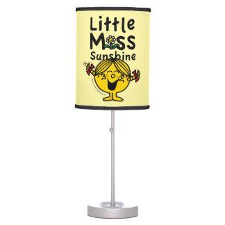 Little Miss | Little Miss Sunshine Laughs Table Lamp