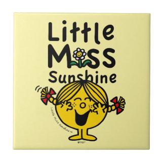 Little Miss   Little Miss Sunshine Laughs Tile