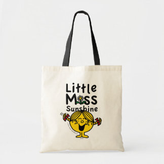 Little Miss | Little Miss Sunshine Laughs Tote Bag