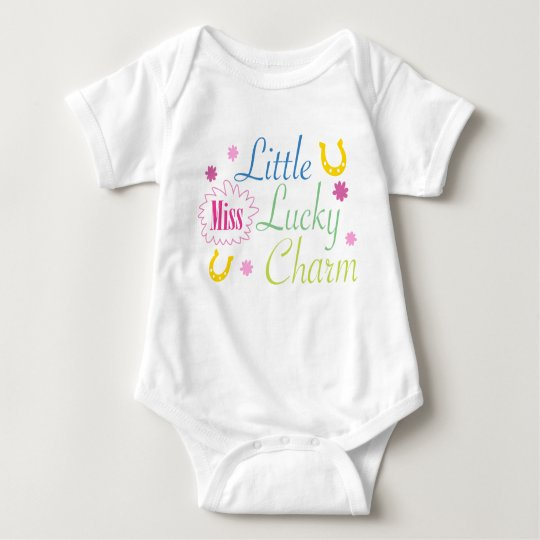 Little Miss Lucky Charm Baby Bodysuit