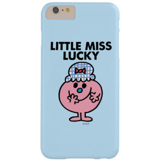 Little Miss Lucky Hiding Her Mouth Barely There iPhone 6 Plus Case