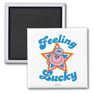 Little Miss Lucky Star Magnet
