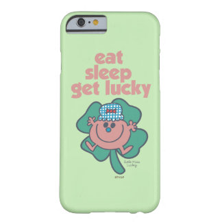 Little Miss Lucky's Motto | Green clover Barely There iPhone 6 Case