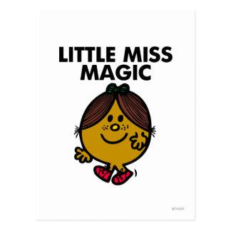 Little Miss Magic Classic Postcards