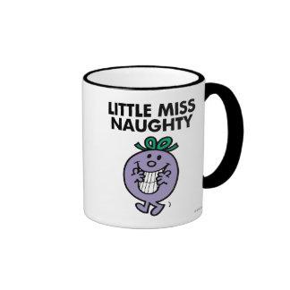 Little Miss Naughty | Huge Smile Ringer Mug