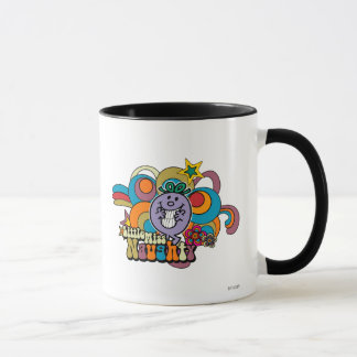 Little Miss Naughty Rainbow Mug