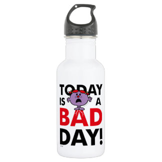 Little Miss Naughty | Today is a Bad Day 532 Ml Water Bottle