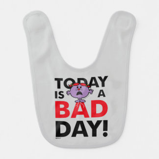 Little Miss Naughty | Today is a Bad Day Bib