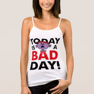 Little Miss Naughty | Today is a Bad Day Tank Top
