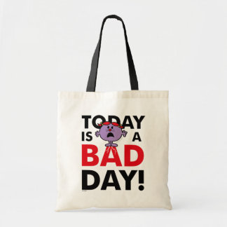 Little Miss Naughty | Today is a Bad Day Tote Bag