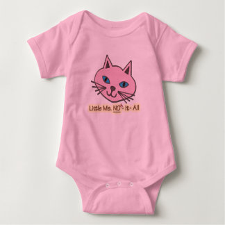 Little Miss No It All Baby Bodysuit