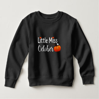 little miss october sweatshirt