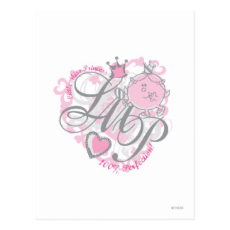 Little Miss Princess - 100% Perfection Postcard