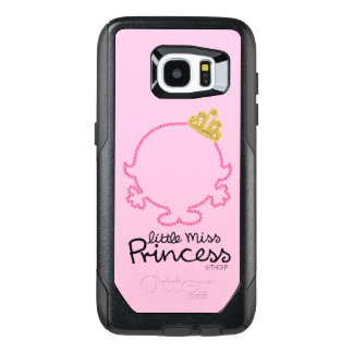 Little Miss Princess | Blank Face OtterBox Samsung Galaxy S7 Edge Case