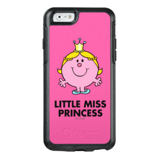 Little Miss Princess | Crown Background OtterBox iPhone 6/6s Case
