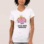 Little Miss Princess | Crown Background Tshirts