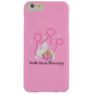 Little Miss Princess | Giant Pink Crown Barely There iPhone 6 Plus Case
