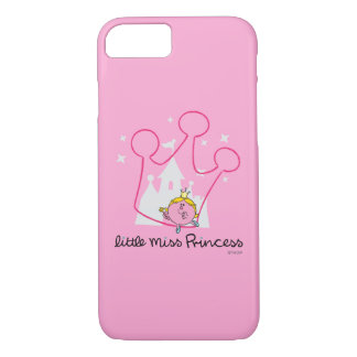 Little Miss Princess   Giant Pink Crown iPhone 7 Case
