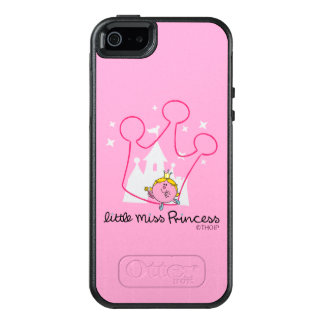 Little Miss Princess | Giant Pink Crown OtterBox iPhone 5/5s/SE Case
