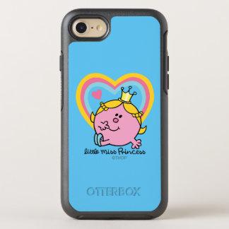 Little Miss Princess | Hearts OtterBox Symmetry iPhone 7 Case