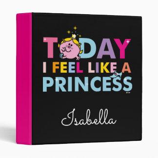 Little Miss Princess | I Feel Like A Princess 3 Ring Binders