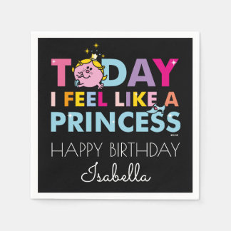 Little Miss Princess | I Feel Like A Princess Disposable Napkins