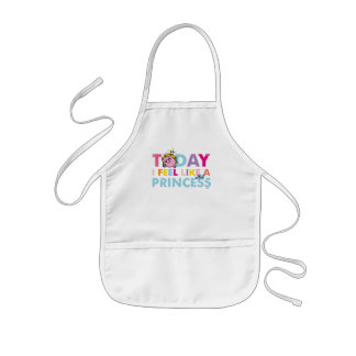 Little Miss Princess | I Feel Like A Princess Kids Apron