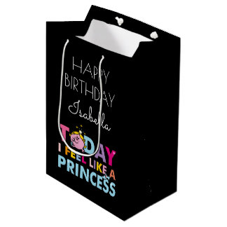 Little Miss Princess | I Feel Like A Princess Medium Gift Bag